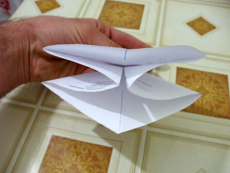Origami – Cum sa faci un cosulet din hartie