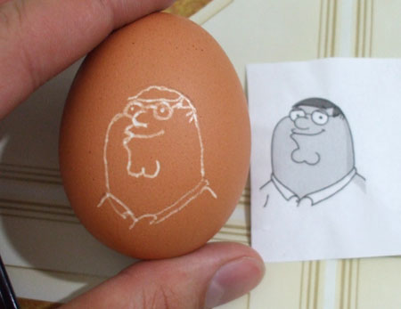 eggshell - peter griffin