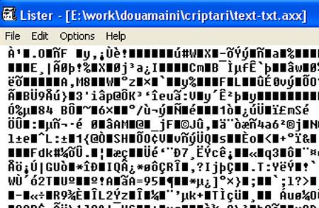 parola pentru fisier criptat