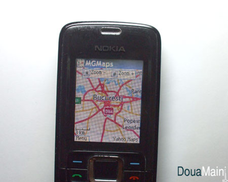 harta bucuresti pe mobil - zoom 10