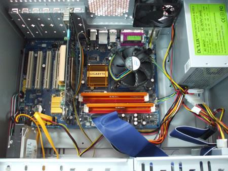 Cum se monteaza un calculator din componente