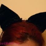 Cum se face un costum de Halloween? Urechi de pisica.